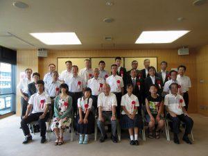 本学学生の献血事業に対する厚生労働大臣より感謝状を授与されました