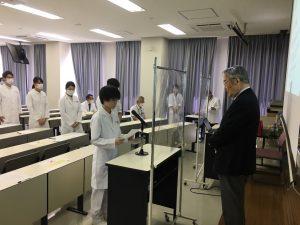 Now! Vol.11 臨床検査学科・3回生 誓約書署名式